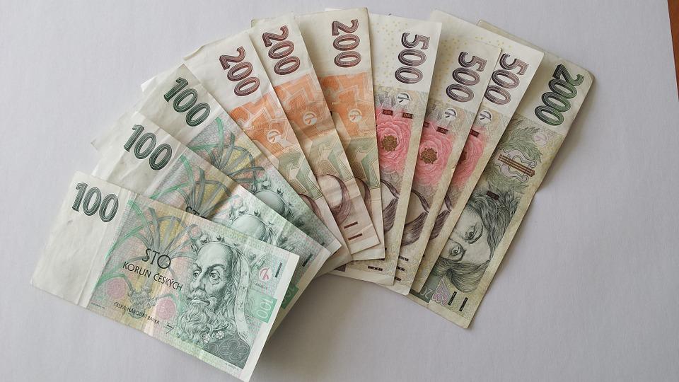 peníze