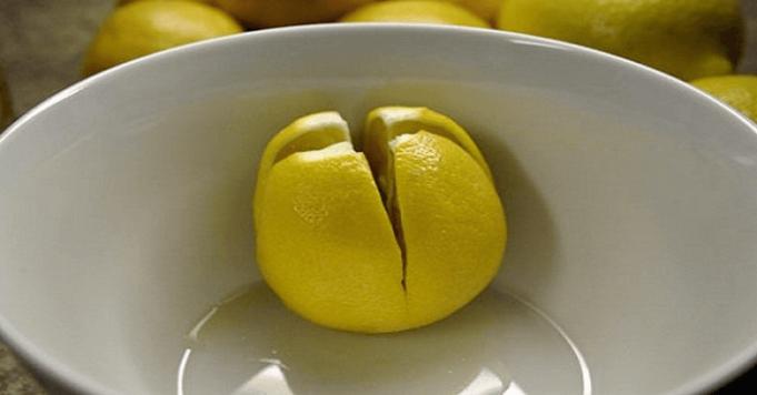 Rozkrojený citrón