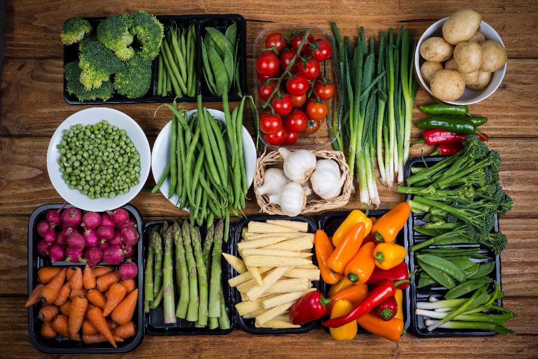 hodně zeleniny