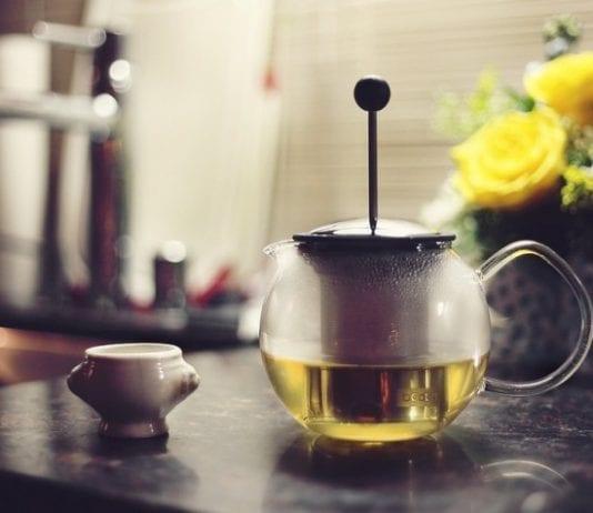 Kerblík čaj