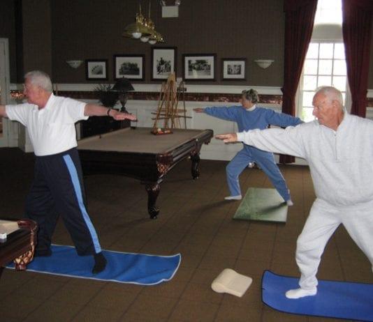 senior joga