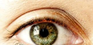 barva očí